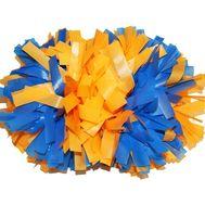 Помпон гантель матовый (оранжево - синий), фото 1