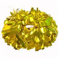 Помпон гантель металлизированный(золотой), фото 1