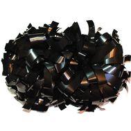 Помпон гантель металлизированный(черный), фото 1