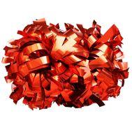 Помпон гантель металлизированный(красный), фото 1