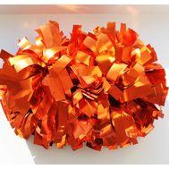 Помпон гантель металлизированный(огненно-рыжий), фото 1