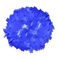Помпон одиночный матовый ( ручка кольца,синий), фото 1