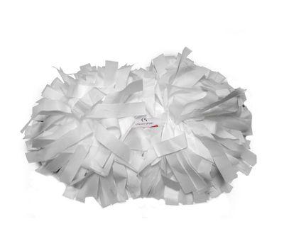 Помпон гантель матовый (белый), фото 1