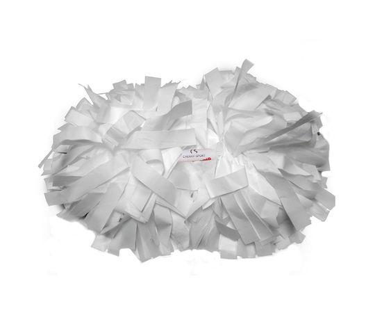 Помпон гантель матовый (белый), фото 2