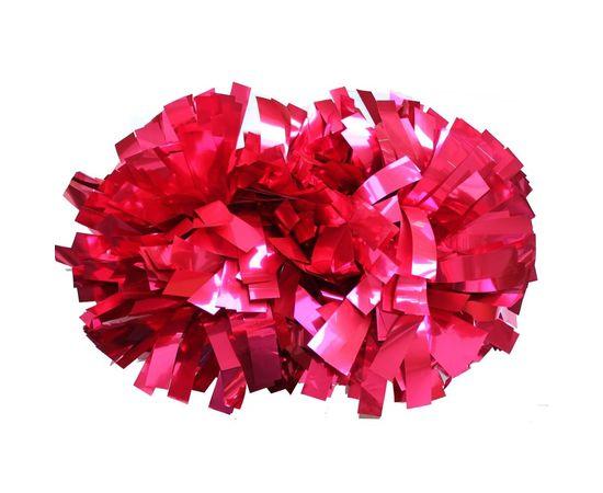 Помпон гантель металлизированный(розовый), фото